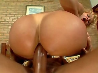 Short Haired Brazilian Chick Getting Her Bubble Butt Pounded And Stretched Out