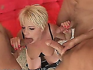 Missy Monroe Short Haired Centerfold Takes On Three Cocks Anal Ass To Mouth Blowjob Cum On Tits Cum Swallowing Double Penetratio