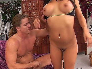 Nadia Styles Taking A Big Dick Up Her Asshole