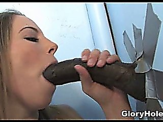 White Teen Black Cock Gloryhole!