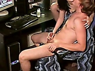 Surprise Handjob From A Milf Wife