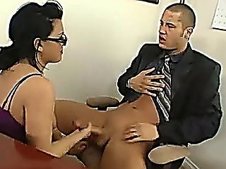 Naughty Secretary Eva Angelina