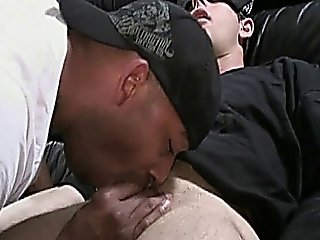 Black And White Blindfolded Gay Sex