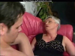 White Hair And Short Hair Grany Fucking mature mature porn granny old cumshots cumshot