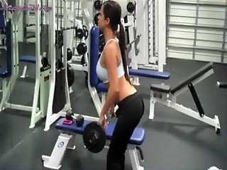 Janessa Brazil gym workout