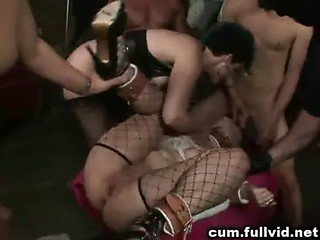 Cum Covered BDSM