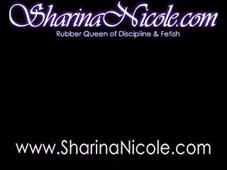 Mistress Sharina Nicole Heel Insertion