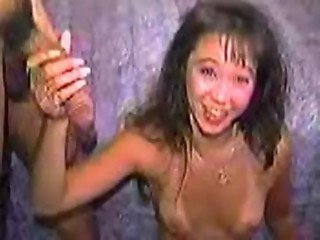 Funny Videos - Porno Bloopers - Asian gets scared off big dick