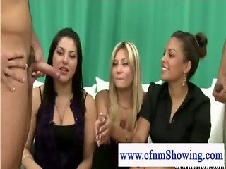 Cfnm ladies in cock sucking competition