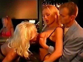 Helen Duval and Silvia Saint