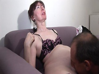 Ugly french mature couple anal fucking - Morgane