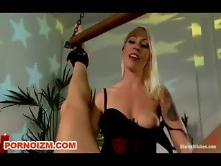 BDSM Electrified cock punishment by Mistress Lorelei Lee