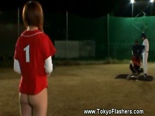 Nude japanese baseball ladies
