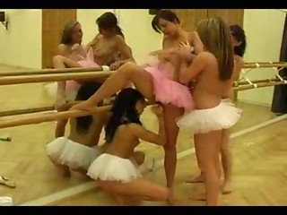 Ballerina's Take A Break From Dancing