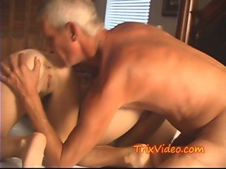 3 TEEN BABES fuck the OLD MAN
