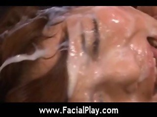 Facial Japanese Cumshots - Bukkake Now - video04