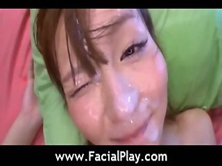 Facial Japanese Cumshots - Bukkake Now - video10