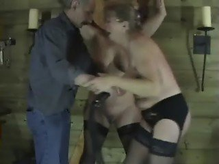 Two Mature Amateur Slaves In Sexual Torments and Enslaved Dungeon Punishments