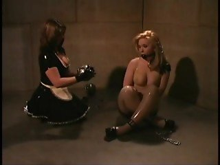 Cute Blonde Hot Day At The Dungeon BDSM action BDSM-STORES.com