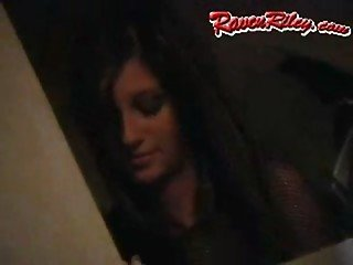 raven riley - halloween party