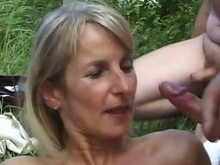 SPERMANNEKE OUTDOOR SEX gangbang bukkake sperm orgy