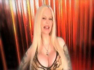 Sabrina Sabrok sexy PunkStar Singer with largest breast