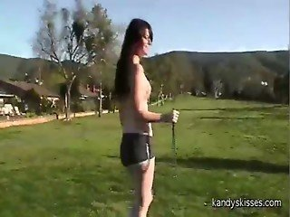 Golfing, CBT and a creampie