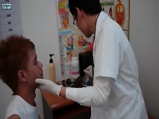 Doctor twink naughty ass checkup