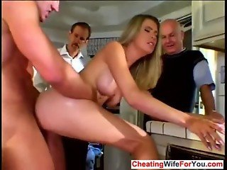 Hot MILF fucked by stranger