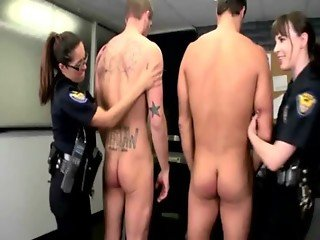 Hottest police babes getting fucked from behind