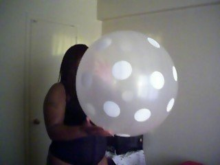 Sexy BBW Peaches Clear Big Balloon! Pt.2..