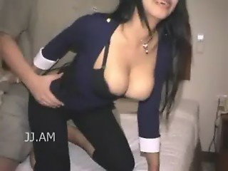 Asian Busty Yui Bouncing Boobs