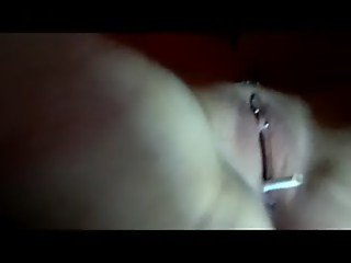 Smoking cigarette with pussy - fail -