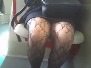 SEXY FASCINATING ELEGANT OLD MATURE WIDE LEGS