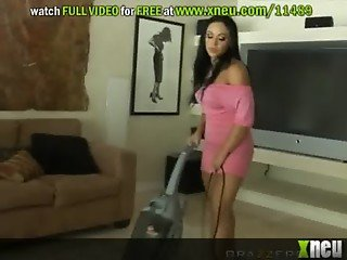 Noisy Neighbor Gets A Her Just Deserves From A Fat Cock