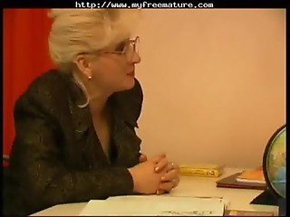Russian Granny Teacher And Her Student1 mature mature porn granny old cumshots cumshot