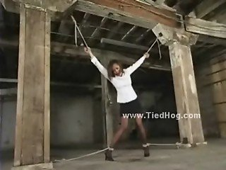 Tied indonesian slave used and abused in bdsm fetish dream extreme video