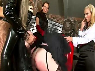 Lezdom slave unleashed