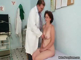 Horny old grandma gets her tight