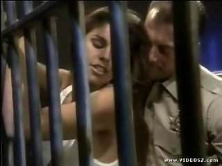 Sexy Bitch Gets Fucked In The Jail