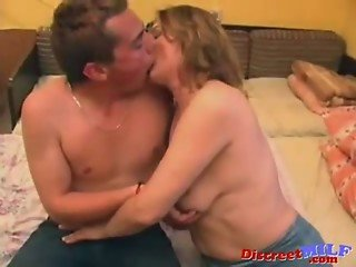 Hairy European Mother Cheating