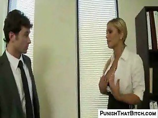 Shyla Punished in the Office