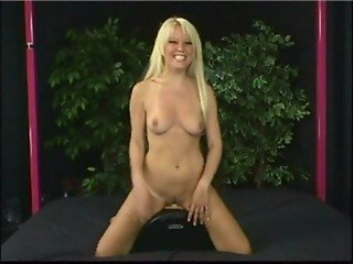 Holly Wellin Rides the Sybian Thrice