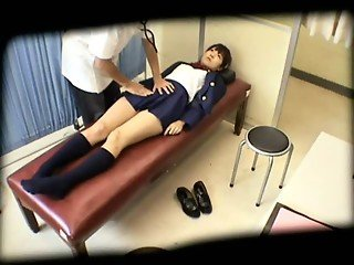 Japanese schoolgirls (18 ) abused during medical examinations
