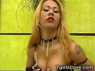 Hottest Tranny Strip!