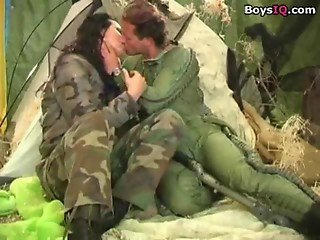 Beautiful army pilot in love - BoysIQ.com sex video