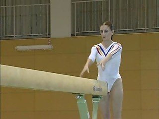 Claudia - Topless Gymnastics