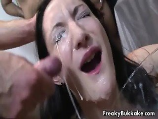 Filthy Spanish whore loves getting big