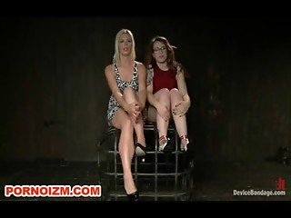 Lesbian Dungeon Slaves and Mistresses