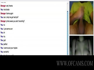 Omegle adventures 5 perfect boobs nadine courtney orgams givemepink tickling d